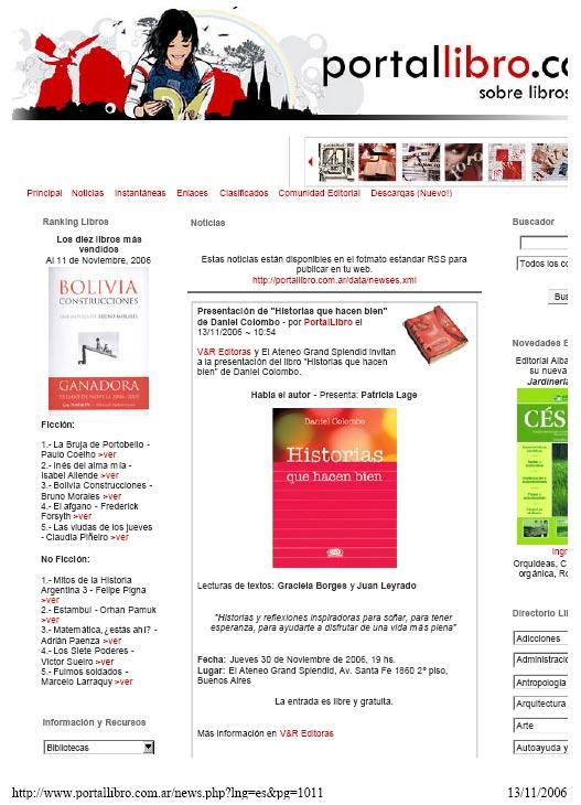 prensa PortalLibro